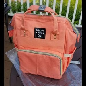 Other - Coral Diaperbag Backpack ((BRAND NEW!!))